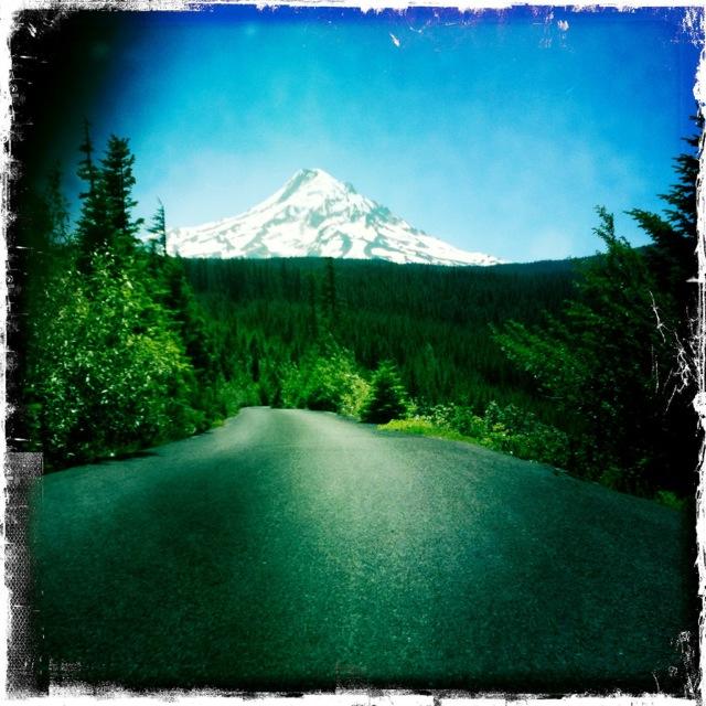 Mt Hood from Vista Ridge