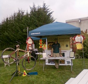 Oregon Cycling Event Tent