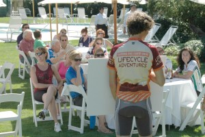 A Cycling Event in the Napa Valley