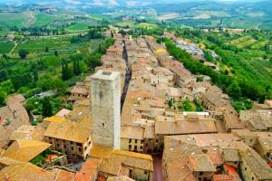 Town of San Gimignano